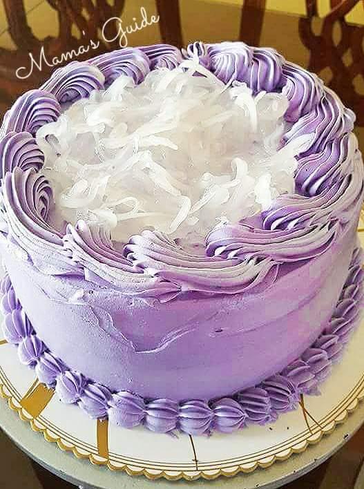 Ube Mcapuno Cake