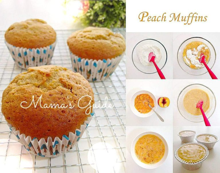 How to make Peach Muffins