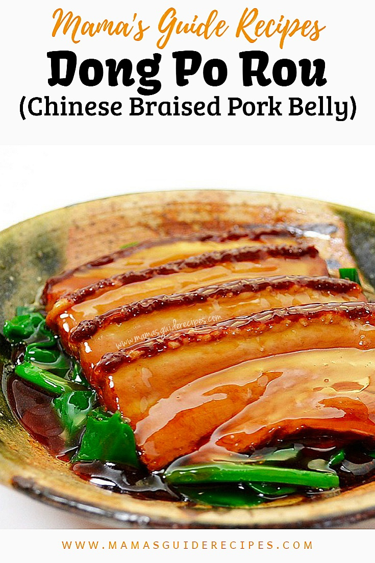 Dong Po Rou (Chinese Braised Pork Belly)