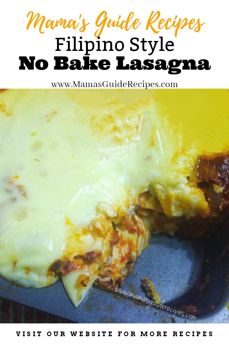 No Bake Lasagna