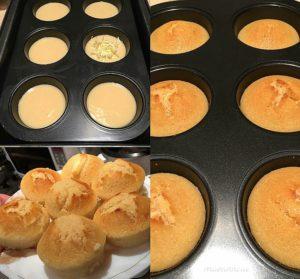 Oven-baked Puto