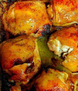 Honey Soy Chicken Thigh