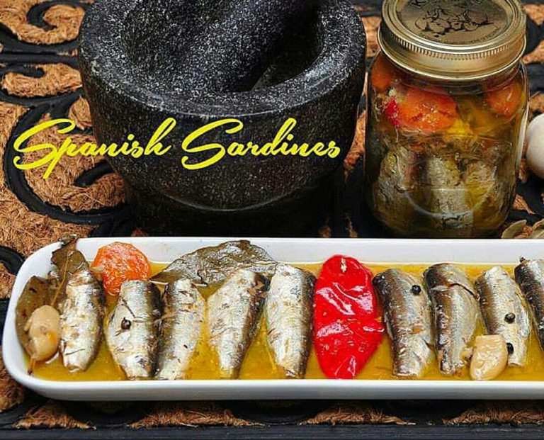 Homemade Spanish Sardines
