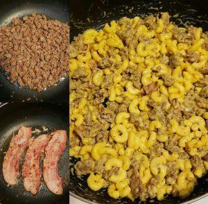 Cheeseburger and Bacon Macaroni