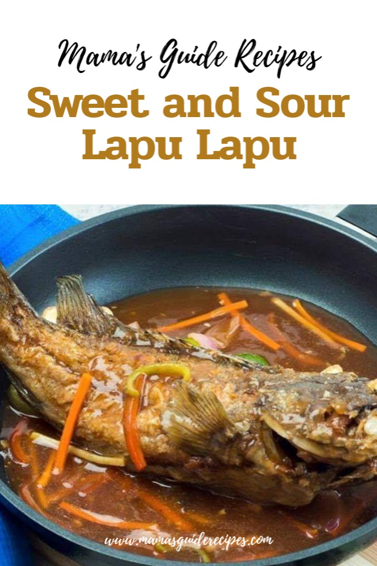 Sweet and Sour Lapu Lapu by Chefs Classic