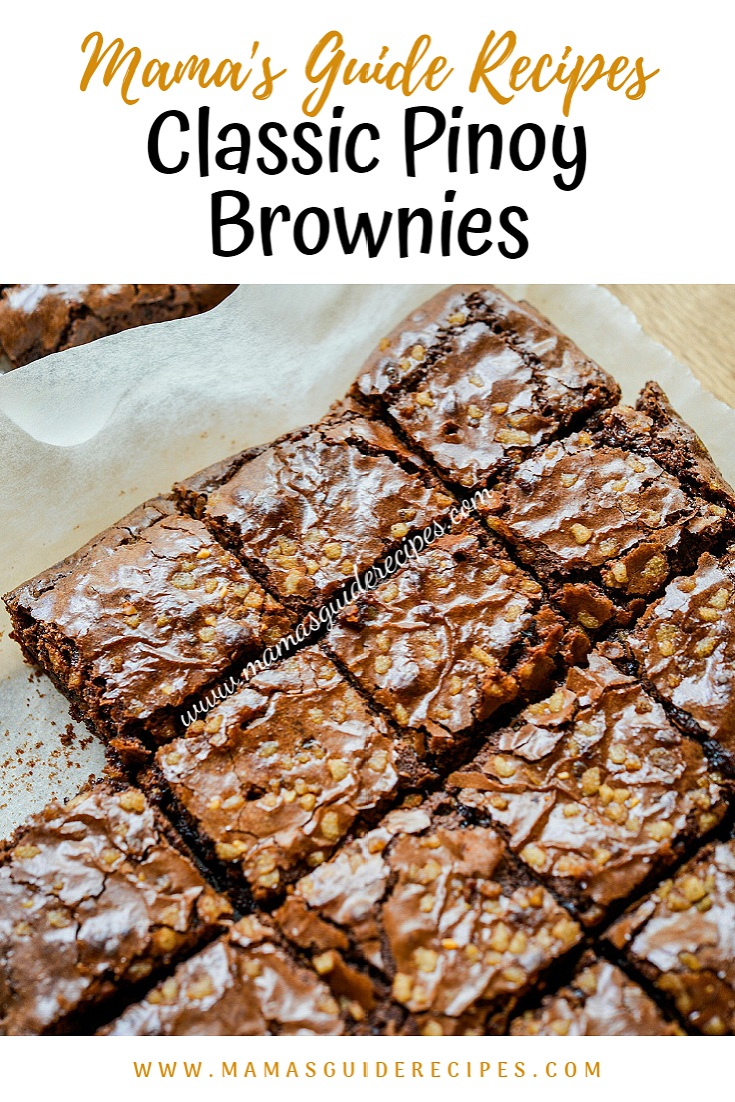 Classic Pinoy Brownies