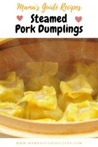 Steamed Pork Dumplings (Easy Siomai Version)