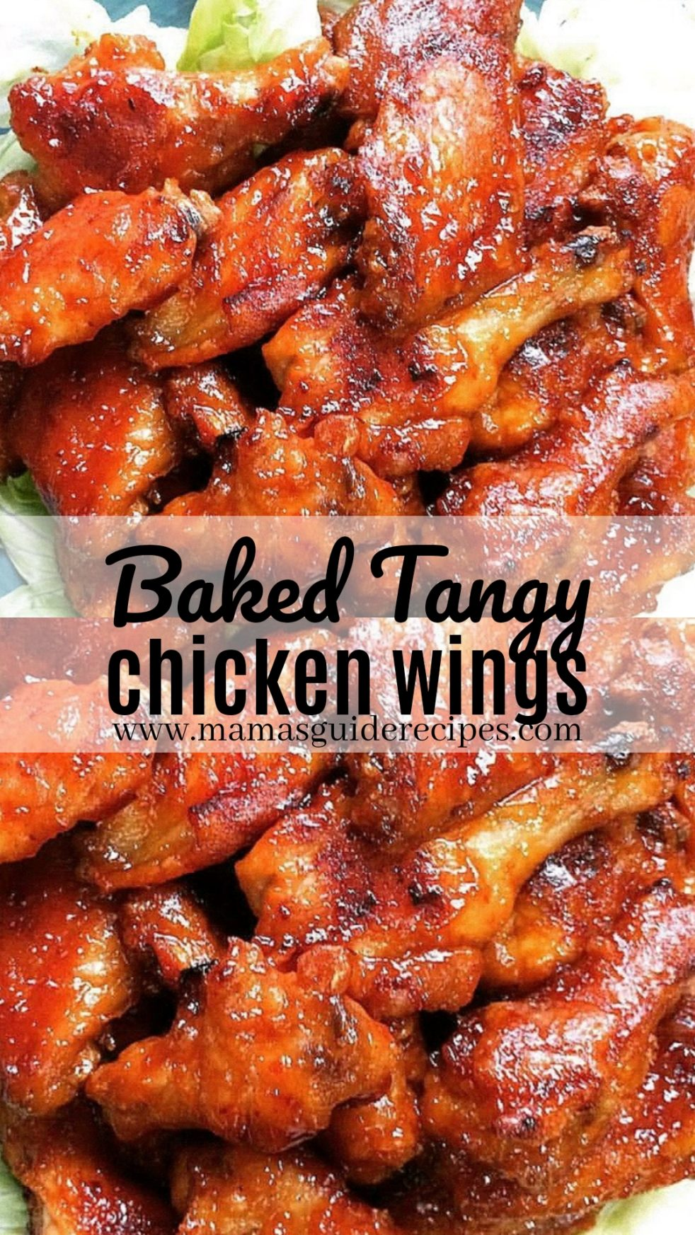 Baked Tangy Chicken Wings