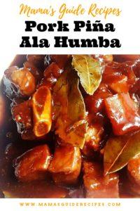 Pork Piña Ala Humba