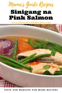 Sinigang na Pink Salmon
