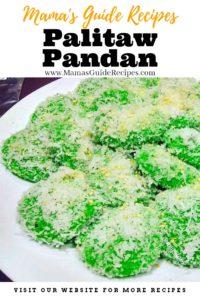 Palitaw Pandan