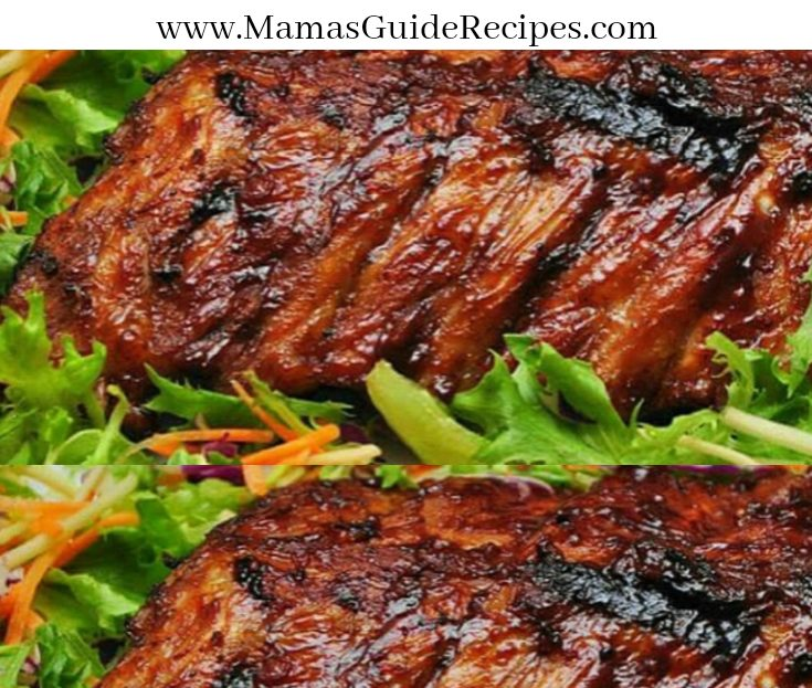 Smoked Roast Ribs with Anise
