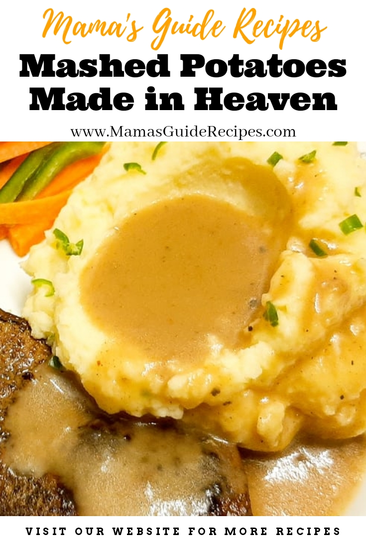 Mashed Potatoes Made in Heaven