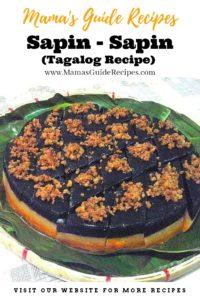 Sapin - sapin (Tagalog Recipe)