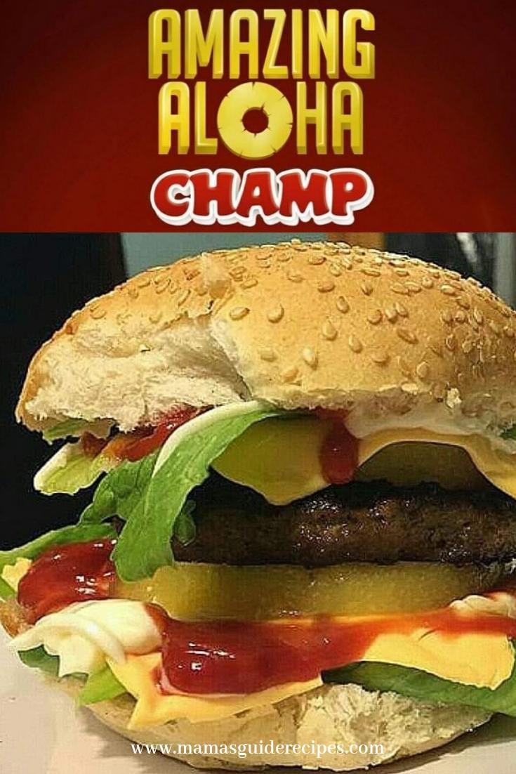 Amazing Aloha Burger