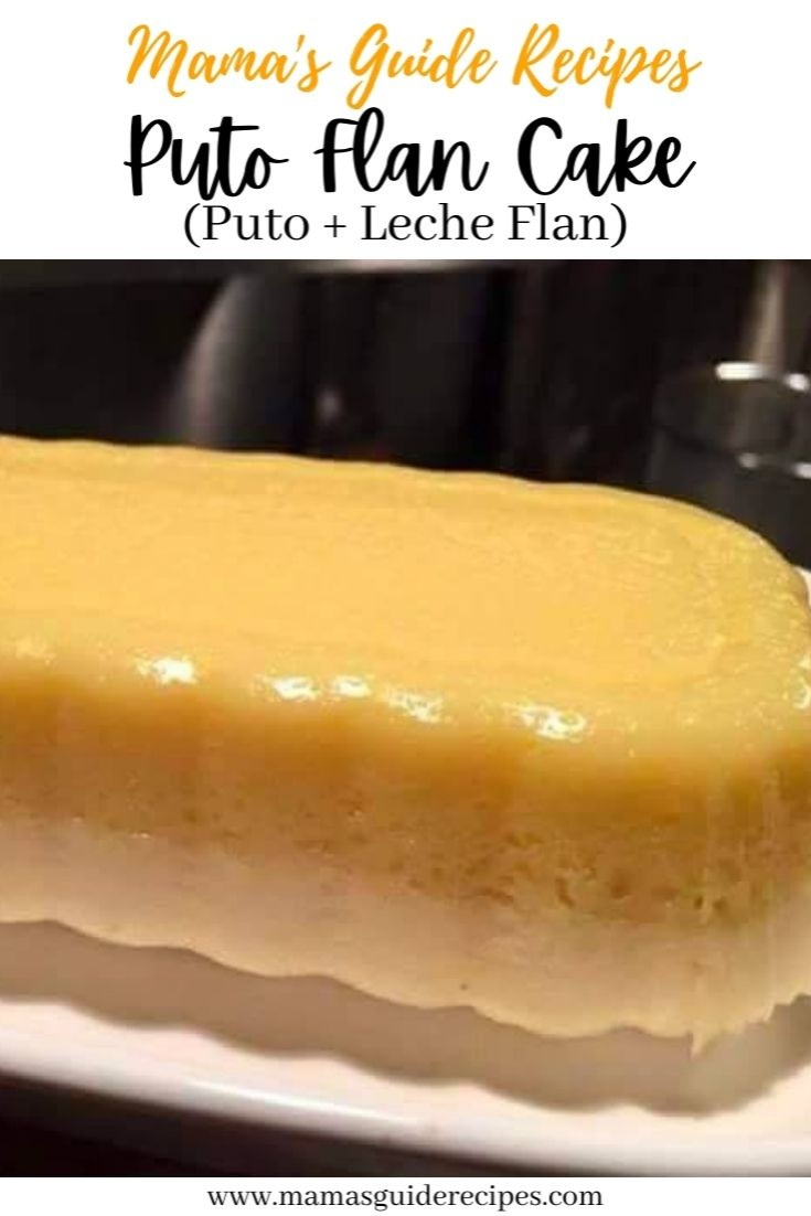 Puto Flan Cake