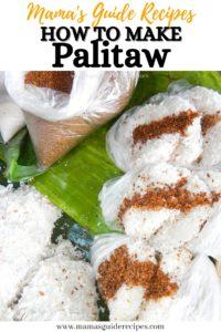 How to make Palitaw