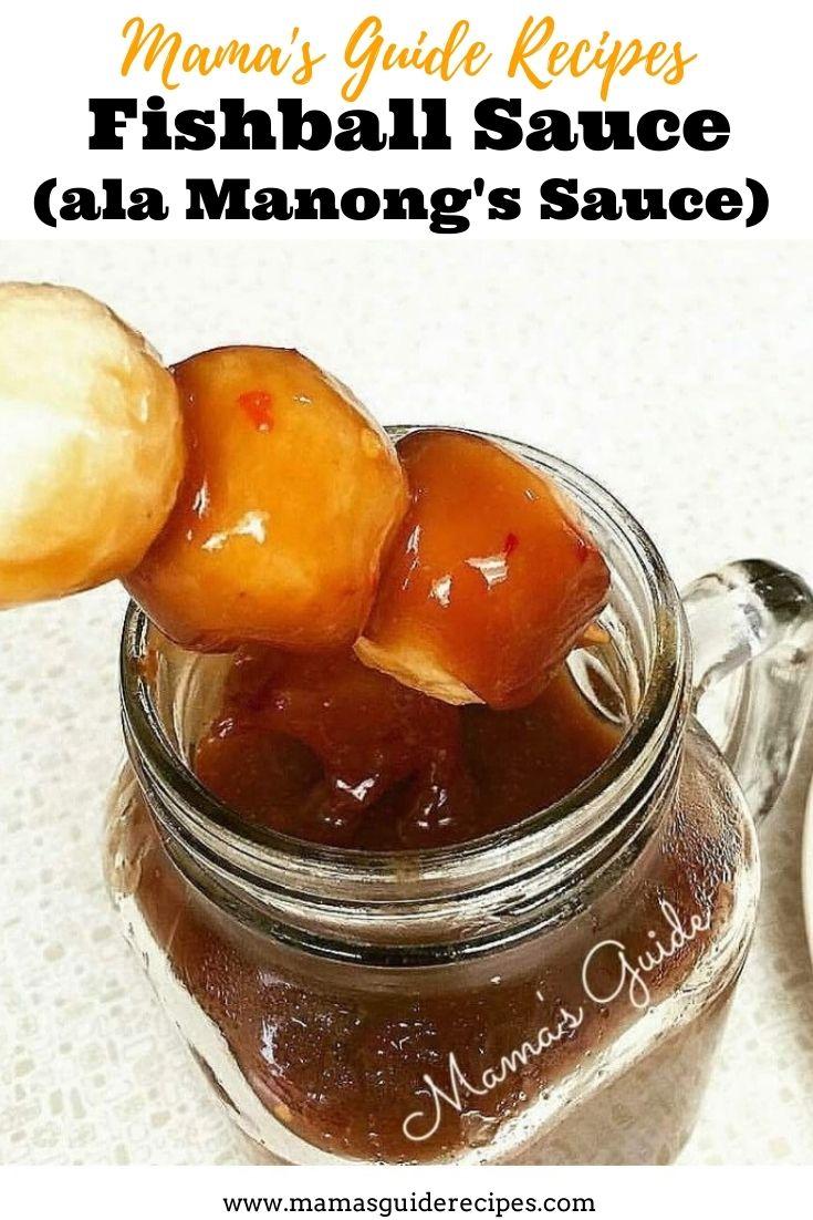 Fish Ball Sauce (ala Manong's Sauce)