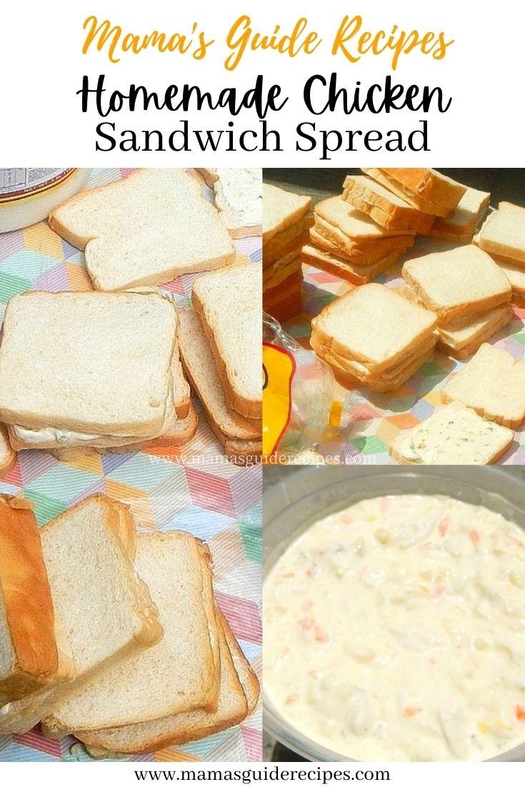 Homemade Chicken Sandwich Spread