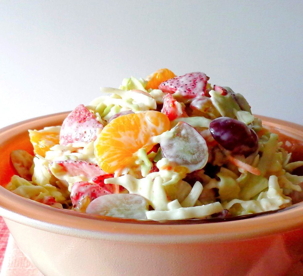 Fruit and Nut Coleslaw