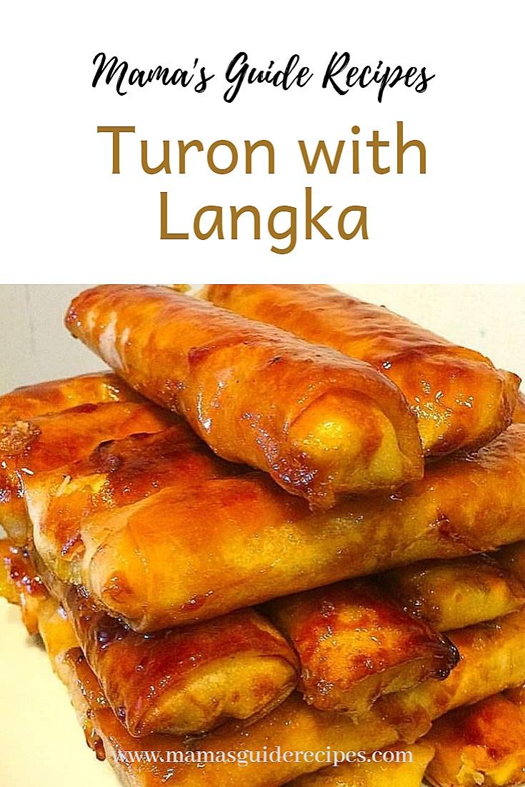 turon with langka