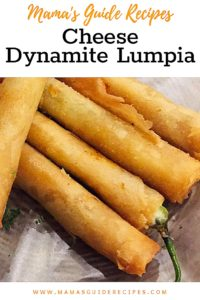 Cheese Dynamite Lumpia
