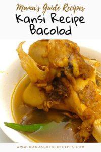 Kansi Recipe Bacolod