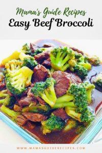 Easy Beef Broccoli Recipe