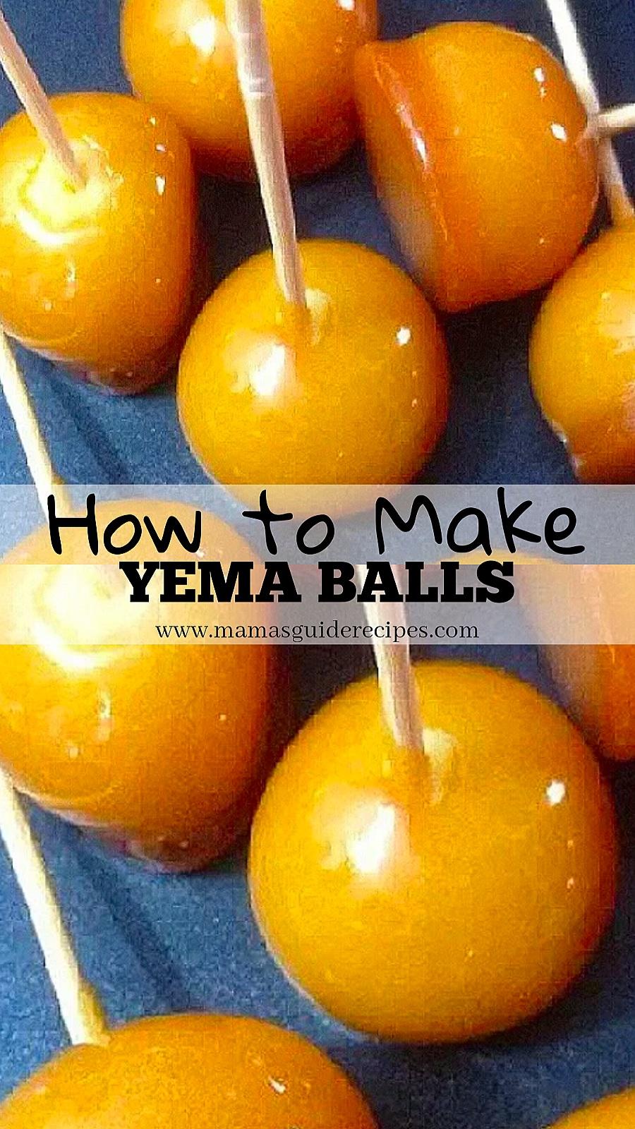 How to make Yema Balls Recipe