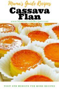 Cassava Flan Recipe