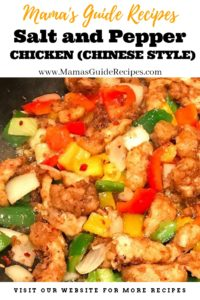 Salt and Pepper Chicken (Chinese Style)