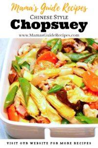 Chopsuey Chinese Style