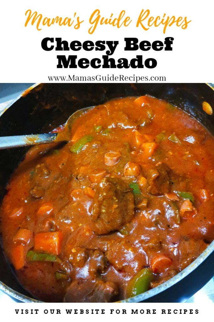 Cheesy Beef Mechado