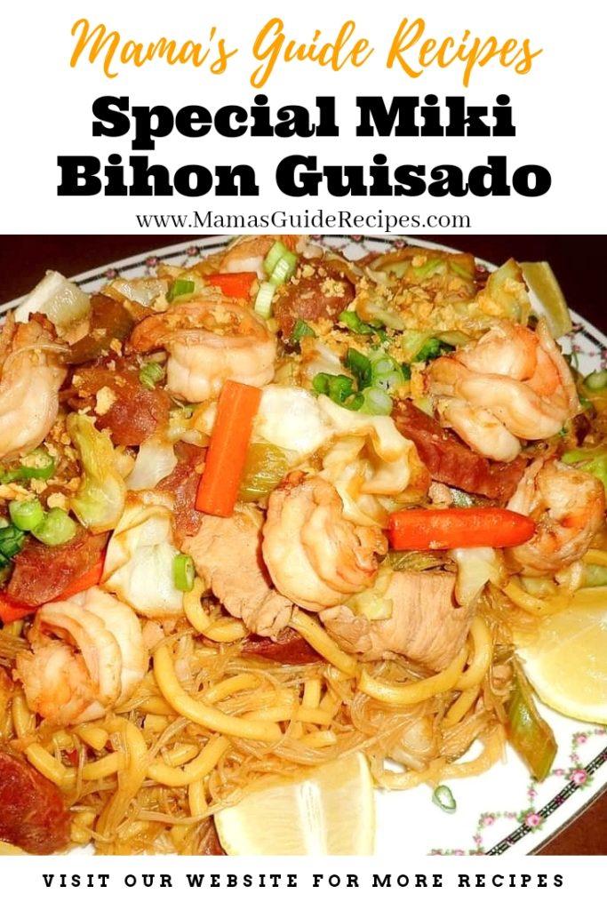 SPECIAL MIKI-BIHON GUISADO