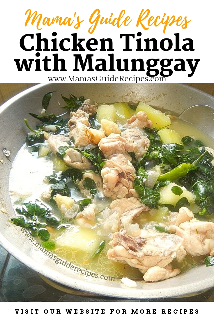 Chicken Tinola with Malunggay