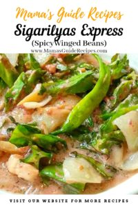 Sigarilyas Express (Spicy Winged Beans)
