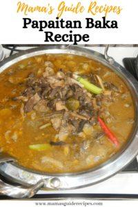 Papaitan Baka Recipe