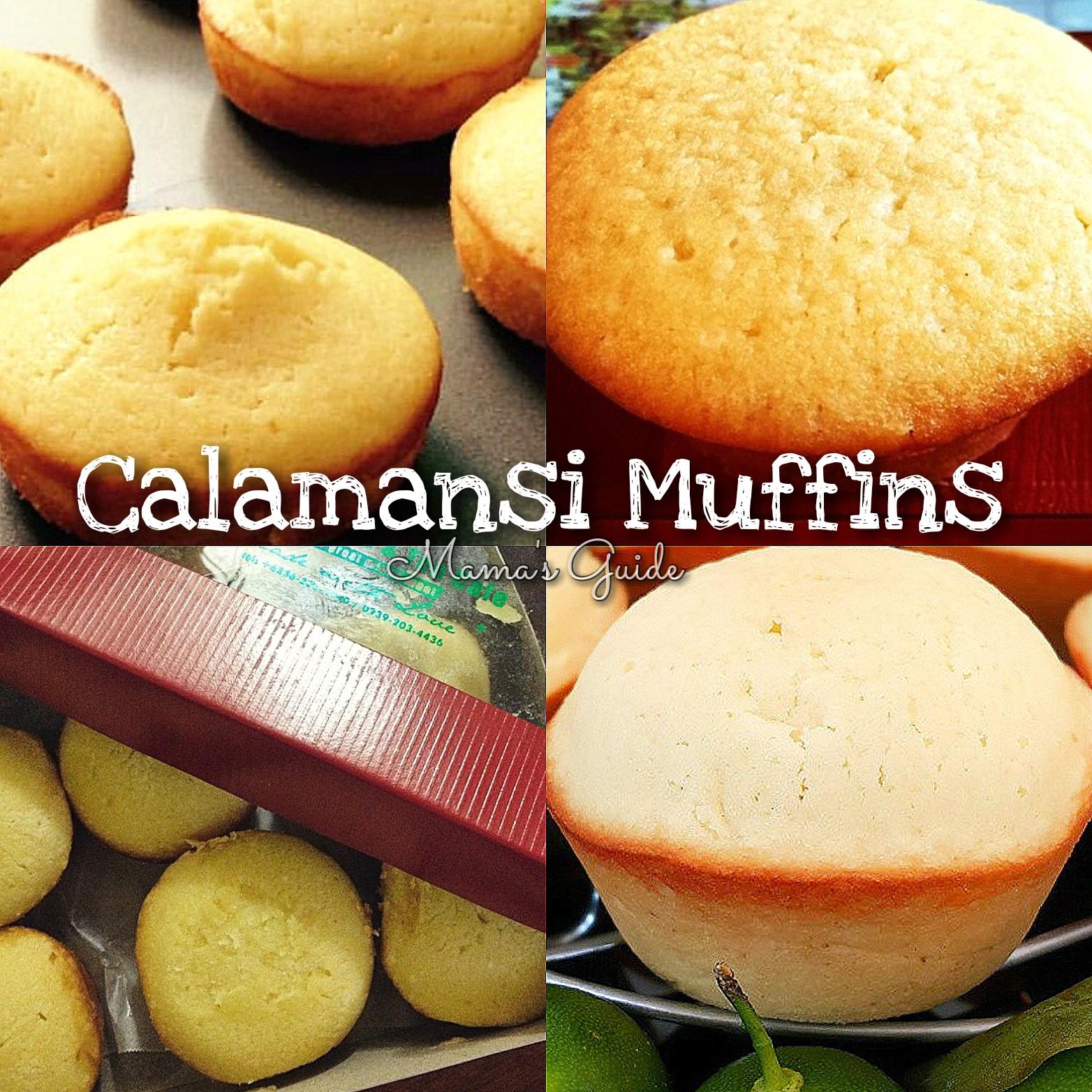 CALAMANSI MUFFINS (Real coffee Boracay Inspired)
