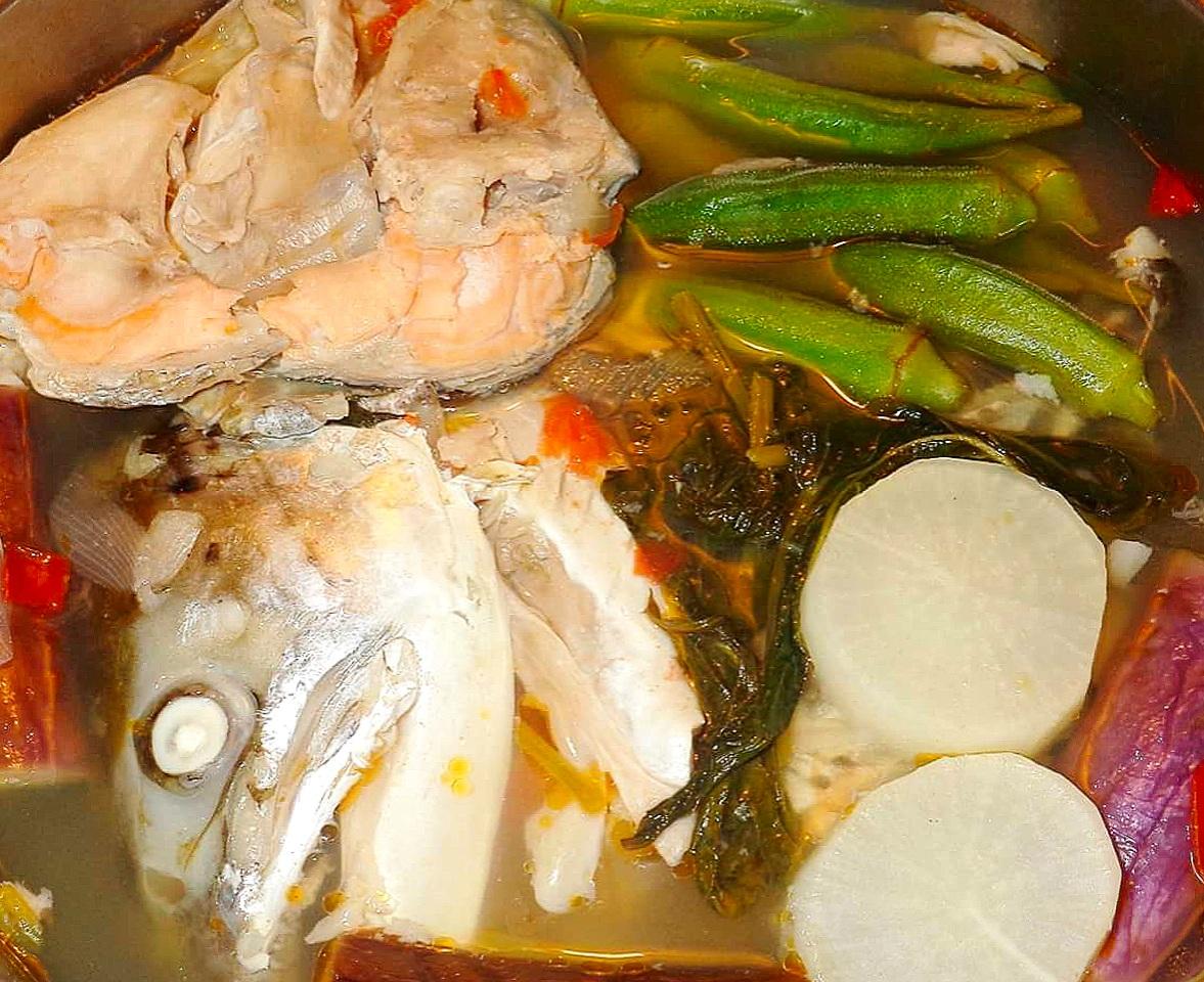 Sinigang Na Ulo Ng Salmon Mama S Guide Recipes