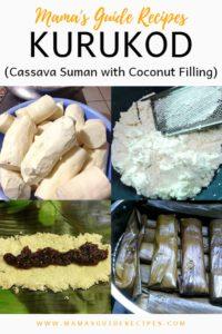 Kurukod (Cassava Suman with Coconut Filling)