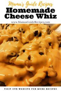Homemade Cheese Whiz