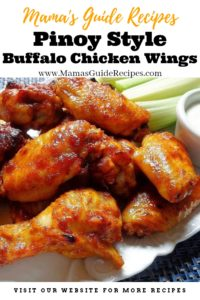 Pinoy Style Buffalo Chicken Wings