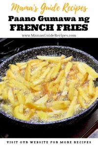 Paano Gumawa ng French Fries