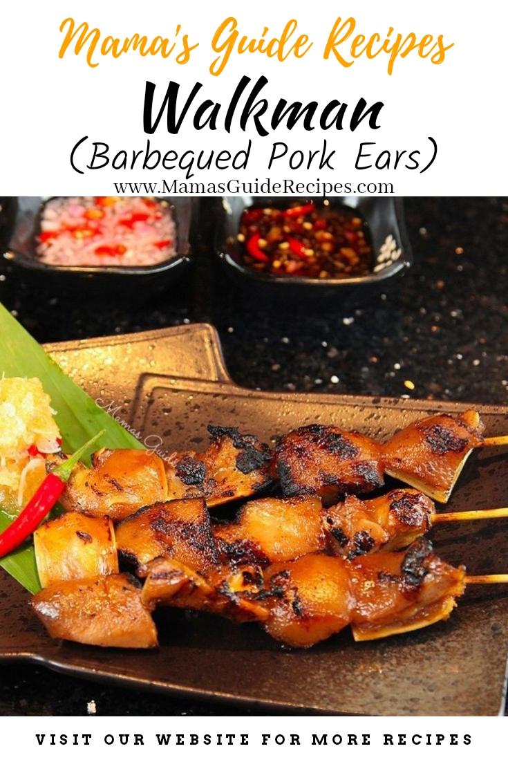 WALKMAN (Barbequed Pork Ears)