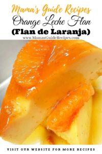 Orange Leche Flan