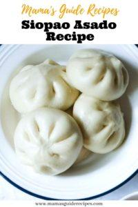 Siopao Asado Recipe