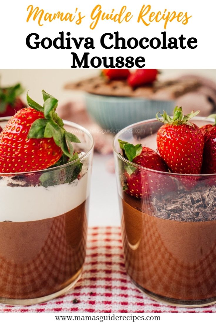 GODIVA CHOCOLATE MOUSSE RECIPE