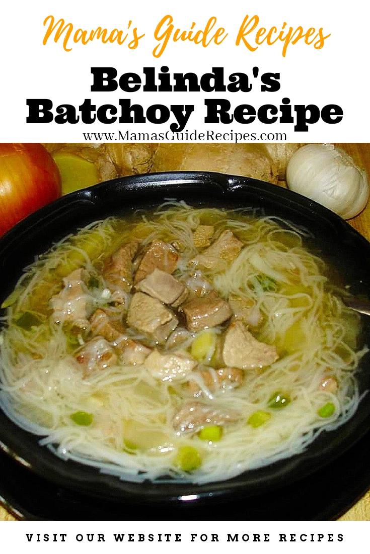 Belinda's Batchoy Recipe