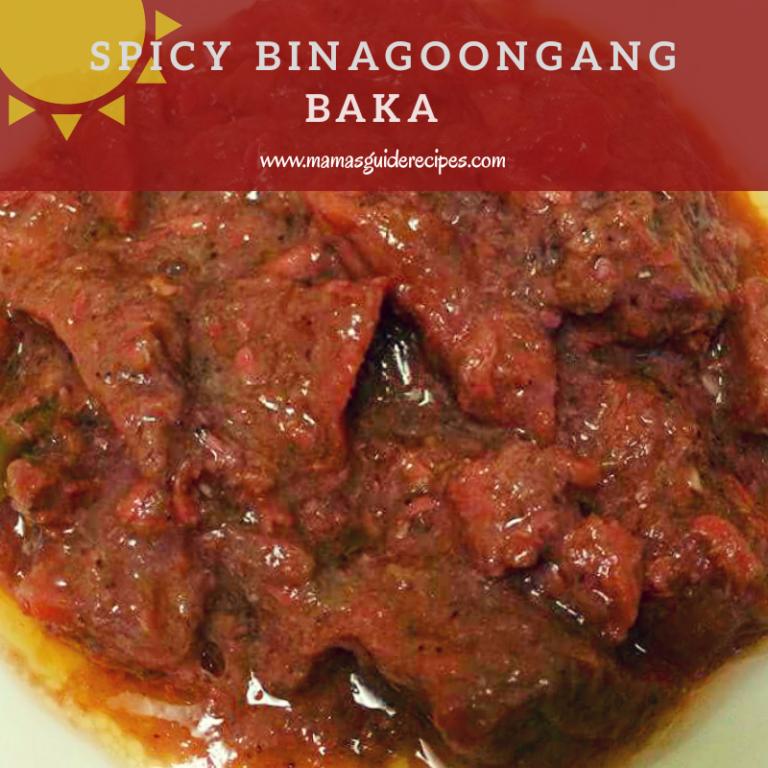 Spicy Binagoongang Baka, Binagoongang Beef, Binagoong, Bagoong, Shrimp Paste and Beef, Beef Recipe,