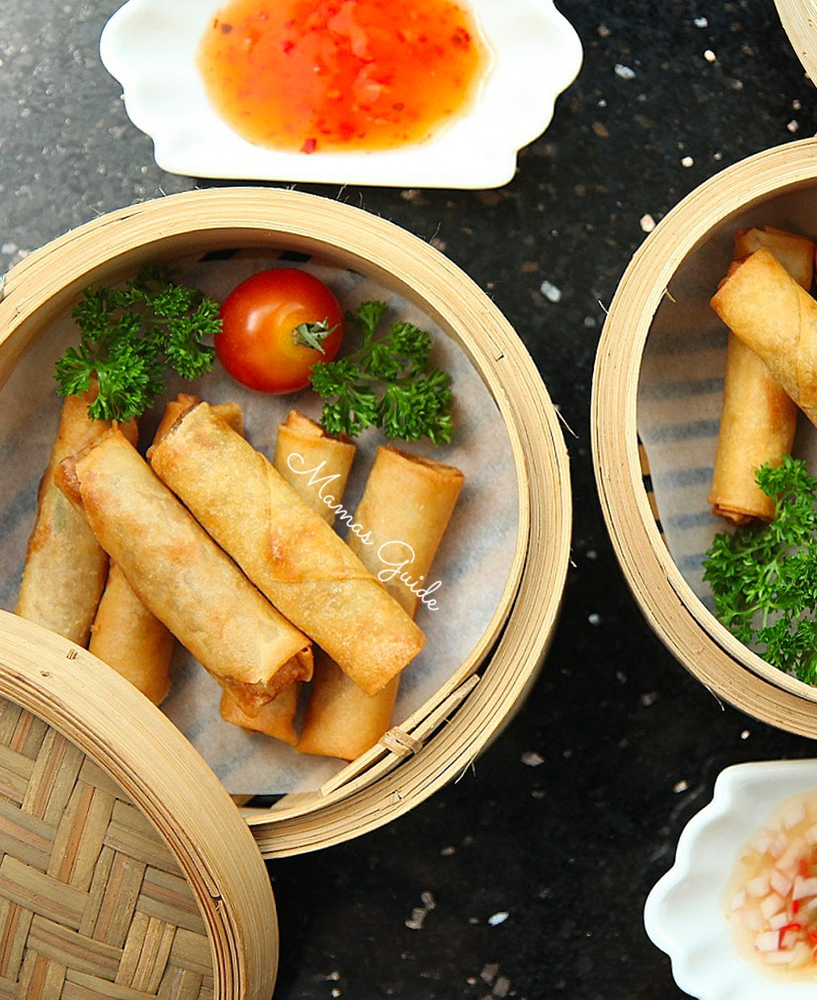 Tinapang Lumpia (Smoked Fish Spring Roll)